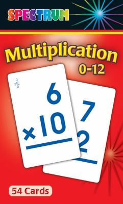 Multiplication 0-12 Flash Cards 9780769662930