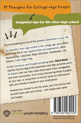 99 Thoughts for College-Age People: Insightful Tips for Life After High School 9780764462153