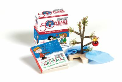 A Charlie Brown Christmas: A Book-And-Tree Kit [With Mini Christmas Tree, Mini Blanket & Ornament] 9780762431458