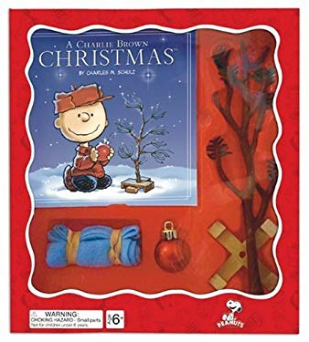 A Charlie Brown Christmas Tree Kit [With Christmas Tree, Wooden Tree Stand, Linus's Blanket and Ornament] 9780762435999