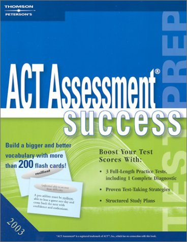 ACT Assessment Success 9780768909531