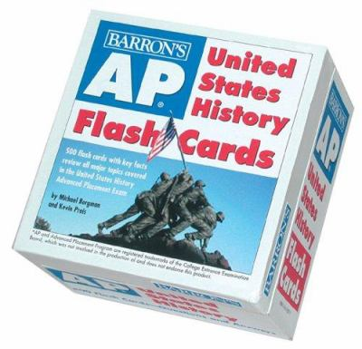 AP United States History Flash Cards 9780764178375