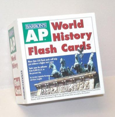 AP World History Flash Cards 9780764179068