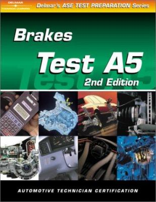 ASE Test Prep (A5) Brakes 9780766834286