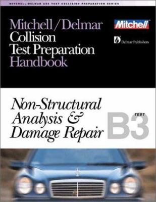 ASE Test Prep Series -- Collision Repair/Refinish (B3): Non-Structural Analysis and Damage Repair 9780766805682