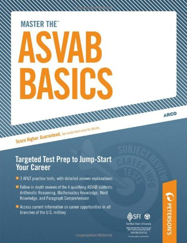 Master the ASVAB Basics 9780768928297