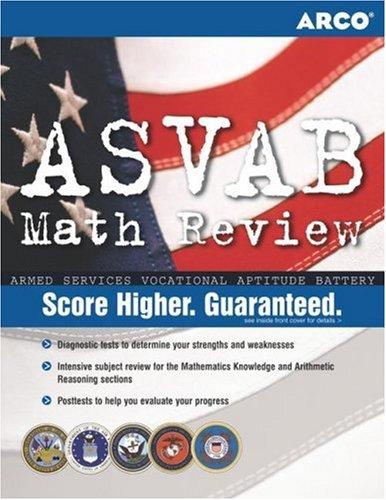 ASVAB Math Review, 1st Ed 9780768912494