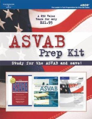 ASVAB Prep Kit, 1st Ed 9780768916072