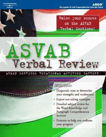 ASVAB Verbal Review, 1st Ed 9780768912425