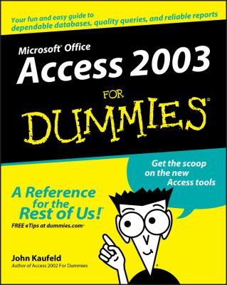 Access 2003 for Dummies 9780764538810