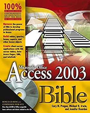 Access Bible [With CDROM] 9780764539862