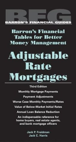 Adjustable Rate Mortgages 9780764124549