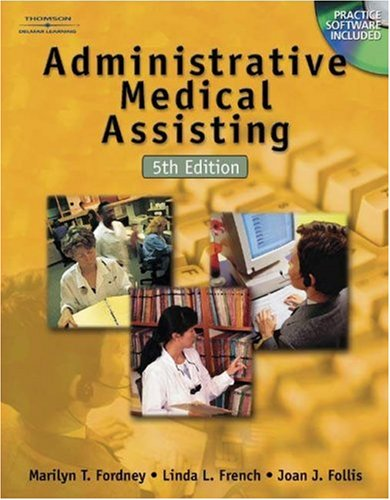 Administrative Medical Assisting [With CDROM] 9780766862500