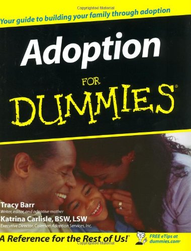 Adoption for Dummies 9780764554889