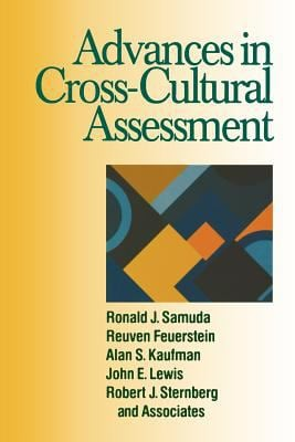 Advances in Cross-Cultural Assessment 9780761912132