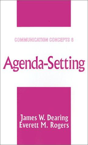 Agenda-Setting 9780761905622