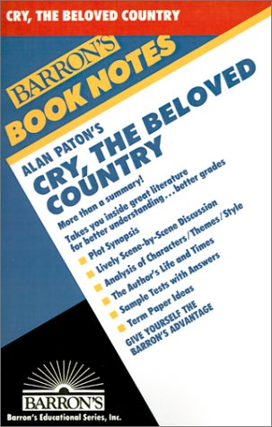 Alan Paton's Cry, the Beloved Country 9780764191602