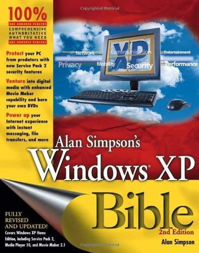 Alan Simpson's Windows XP Bible 9780764578151