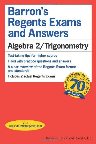 Algebra 2/Trigonometry 9780764145124