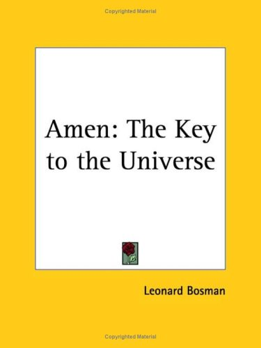 Amen: The Key to the Universe 9780766132696
