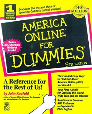 America Online for Dummies 9780764505027