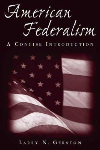 American Federalism: A Concise Introduction 9780765616715