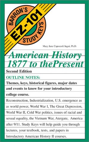American History, 1877 to the Present 9780764120053