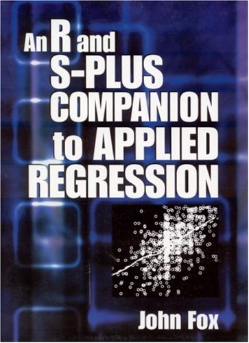 An R and S-Plus Companion to Applied Regression 9780761922803