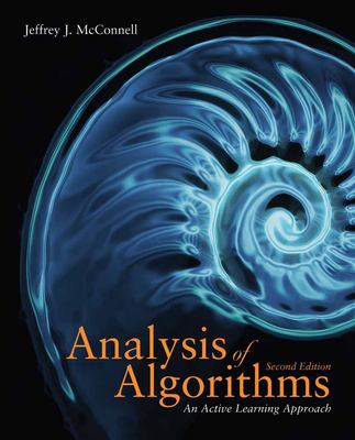 Analysis of Algorithms 9780763707828