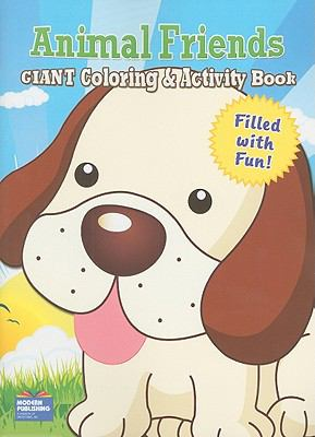 Animal Friends Giant Coloring & Activity Book 9780766637375