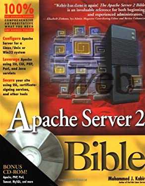 Apache Server 2 Bible [With CDROM] 9780764548215