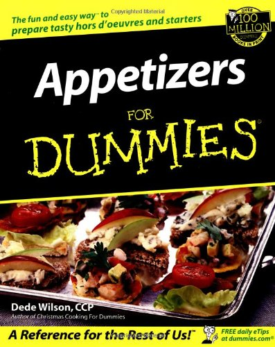 Appetizers for Dummies 9780764554391
