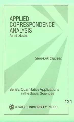 Applied Correspondence Analysis: An Introduction 9780761911159