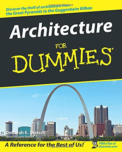 Architecture for Dummies 9780764553967