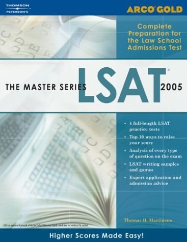 Arco Gold the Master Series LSAT 9780768914719