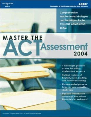 Arco Master the ACT Assessment 9780768912050