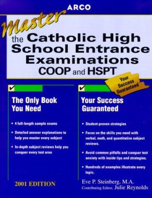Arco Master the Catholic High School Entrance Examinations: COOP and HSPT 9780764560811