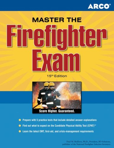 Arco Master the Firefighter Exam