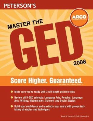 Arco Master the GED 9780768924824