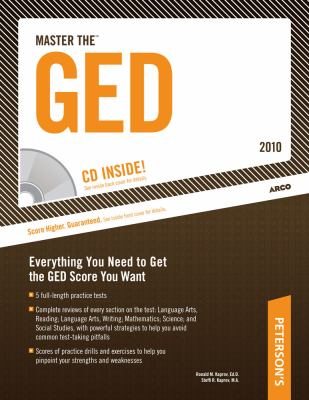 Master the GED - 2010: With CD-ROM; Everything You Need to Get the GED Score You Want [With CDROM] 9780768927986