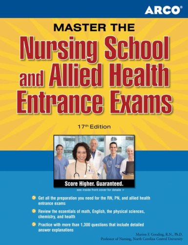 Arco Master the Nursing School and Allied Health Entrance Exams 9780768918397
