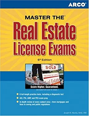Arco Master the Real Estate License Exams 9780768919882