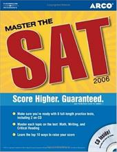 Arco Master the SAT [With CDROM]
