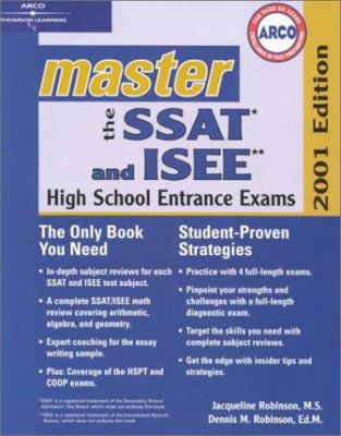 Arco Master the SSAT and ISEE