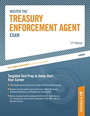 Arco Master the Treasury Enforcement Agent Exam 9780768923087