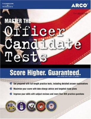 Arco Officer Canidate Tests 9780768917017