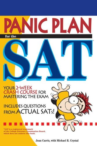 Arco Panic Plan for the SAT 9780768915341