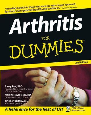 Arthritis for Dummies 9780764570742