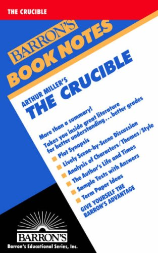 Arthur Miller's the Crucible 9780764191633