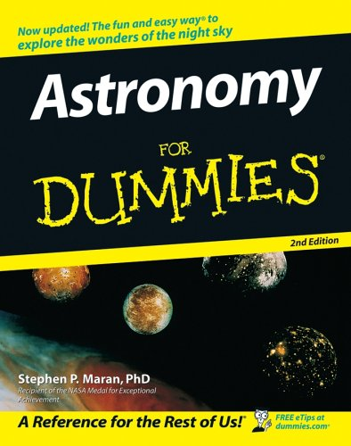 Astronomy for Dummies 9780764584657